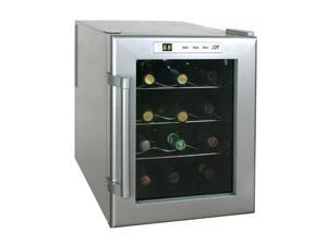 Sunpentown WC-12 12-Bottle ThermoElectric Wine Cooler Platinum