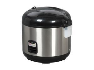 MAXI-MATIC DRC-1000B Stainless Steel Elite Platinum 10-Cup Stainless Steel Rice Cooker