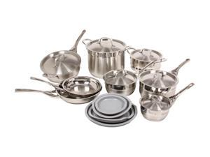 DeLonghi CS-14GE 14 Pc. Cookware Set Silver