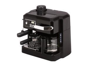 DeLonghi BCO320T Three-In-One Machine Black