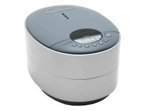 ZOJIRUSHI NS-DAC10 Silver 5.5 cups ZUTTO Neuro Fuzzy Rice Cooker & Warmer