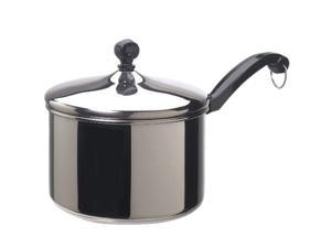 FARBERWARE 70754 3 QT Covered Straining Saucepan