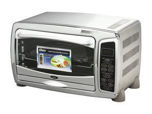 Oster 6058 Stainless Steel 6 Slice Digital Toaster Oven