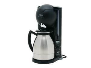 KRUPS 2294G Aroma Control 10-Cup Thermal Coffee Maker w/ Electronic Program