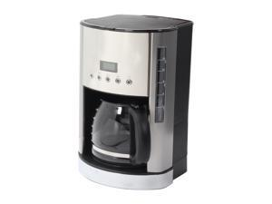 KRUPS KM730D50 Stainless steel 12-Cup Glass Filter Coffee Maker