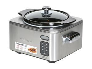Cuisinart PSC-400 Stainless Steel Programmable Slow Cooker