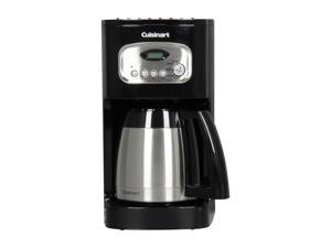 Cuisinart DCC-1150BKFR Black 10-Cup Programmable Thermal Coffeemaker