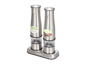 Cuisinart SP-2 Stainless Steel Stainless Steel Rechargeable Salt and Pepper Mills