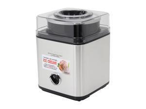 Cuisinart CIM-60PCFR Pure-Indulgence 2-Quart Ice-Cream Maker Brushed Chrome