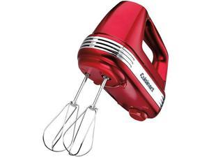 Cuisinart HM-70MR Power Advantage 7-Speed Hand Mixer Metal Red