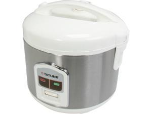 TATUNG TRC-8BD1 White/Stainless 8 Cups Rice Cooker