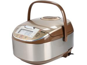 Tatung Micom Fuzzy Logic Multi-Cooker and Rice Cooker, Champagne, 16 Cups cooked/8 Cups uncooked, TFC-5817
