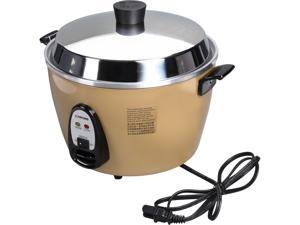 TATUNG Multi-Functional Cooker and Steamer, Champagne, 20 Cups cooked//10 Cups uncooked, TAC-10GS-CP