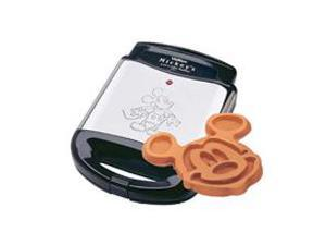 VillaWare V555502 Stainless Steel Mickey's Waffler - 4 at a Time