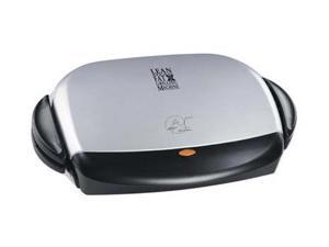 George Foreman GRP4P Silver Next Grilleration 4-Burger Grill
