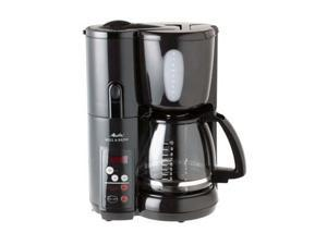 Melitta Coffee Maker Home Hardware : Melitta MEMB1B Black 10 cup Coffee Makers