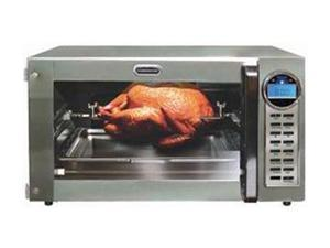 FARBERWARE FAC900R Silver Convection Toaster Oven with Rotisserie