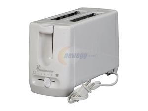 Toastmaster T100 White Two Slice Toaster