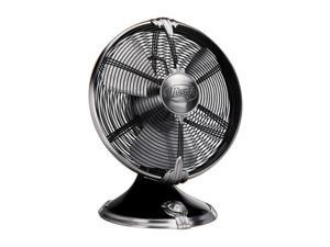 "Hunter 90042 12"" Oscillating Table Fan Onyx Black"