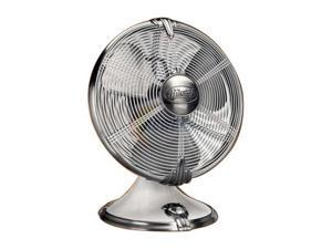 "Hunter 90046 12"" Oscillating Table Fan Pearl White"