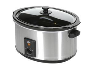 Maxi-Matic MST-800V Elite Gourmet 8.5-Quart Stainless Steel Slow Cooker