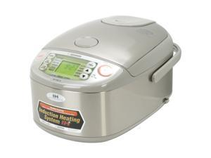 ZOJIRUSHI NP-HBC10 Stainless Steel 5.5 cups Induction Heating System Rice Cooker & Warmer