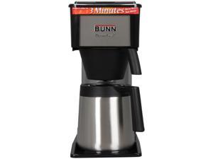 Bunn BT 10 Cup Thermal Home Velocity Brewer Black