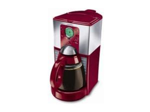 MR. COFFEE FTX27 Heritage Red 12-Cup Programmable Coffee Maker