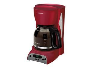 Mr Coffee Maker In Red : MR. COFFEE DRX26 Heritage Red 12-Cup Programmable Coffee Maker