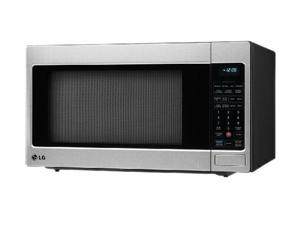 LG 1200 Watts Counter-Top Microwave Oven LCRT2010ST Sensor Cook Stainless Steel