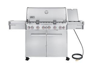 Weber Summit S-670 Natural Gas Grill 7470001 Stainless Steel