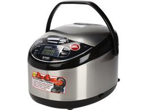 Tiger JAX-T18U Microcomputer Controlled 10 Cups(Uncooked), 20 Cups(Cooked)   Multifunctional Rice Cooker, Black