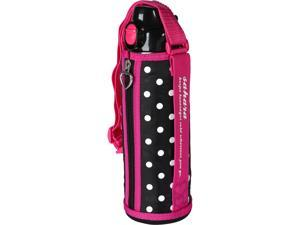 Tiger 1.0 Liter Stainless Steel Sports Bottle With Holder Pink MMN-F100-P