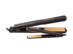 REVLON 1-1/2 in. Straightener with Dual Voltage Travel Hair Straightener (RVST2028CPK1)
