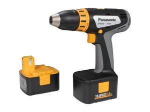 "Panasonic EY6432NQKW 15.6V 1/2"" 3.0 Ah Ni-MH Cordless Drill & Driver Kit"