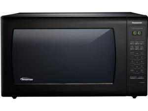 Panasonic 1250 Watts 2.2 Cu. Ft. Black Microwave Oven NN-SN936B Black