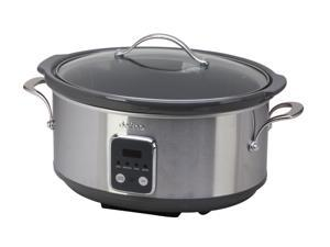 Toastess DLSC-697 Silver Programmeble Slow Cooker