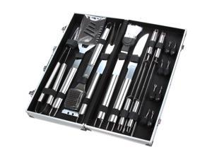 Rosewill  18 pcs Stainless-Steel BBQ Set with Aluminum Storage Case R18BBQ-A