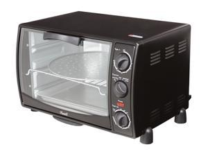 "Rosewill RTOB-11001 6 Slice 12"" Pizza Black Toaster Oven Broiler"