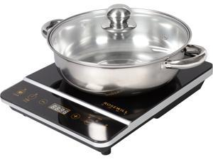 Rosewill RHAI-16001 1800-Watt Induction Cooker Cooktop with Stainless Steel Pot