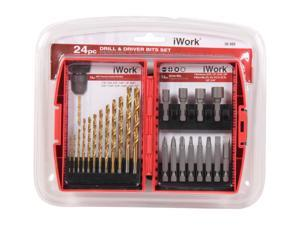 Olympia Tools 36-980 24pc Drill & Driver Bit Set