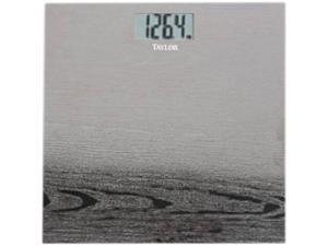 TAYLOR 74144102 Etched Wood Design Stainless Steel Bath Scale