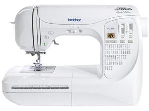 brother PC210PRW Limited Edition Project Runway 16 Utility Stitch Functions