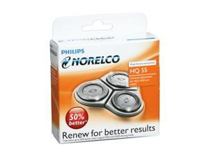 Norelco HQ55 Reflex Plus Replacement Heads