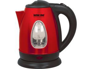 Better Chef IM-152R Red Stainless Cordless Electric Kettle
