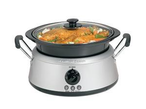 Hamilton Beach 33135 Stainless Steel 3-in-One Slow Cooker