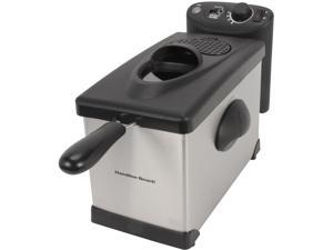 Hamilton Beach 35030 12 Cup Oil Capacity Deep Fryer