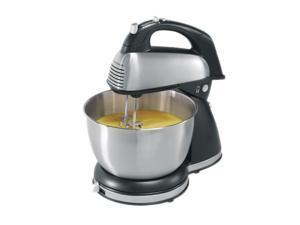 Hamilton Beach 64650 6 Speed Classic Stand/Hand Mixer Silver