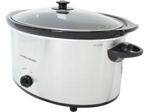 Hamilton Beach 33176 Stainless Steel Oval Slow Cooker
