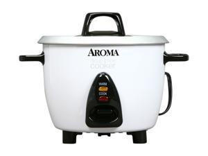 AROMA ARC-733G White Pot-Style Rice Cooker